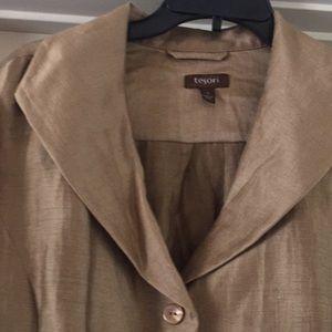 Tesoro Silk long light Jacket